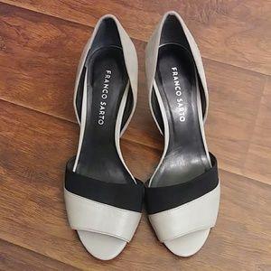 Franco Sarto Shoes - FRANCO SARTO open toe heel shoes size 7.5